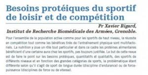 Protéines et sport
