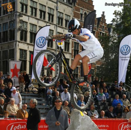 coupe du monde VTT trial Anvers