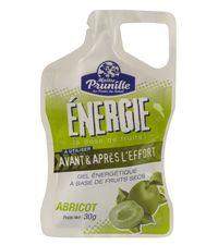 gel energetique sport  abricot sec maitre prunille