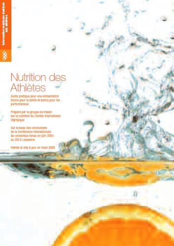 guide nutrition athlètes