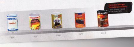 Nouveau design pour les packagings et des nouveautés produits pour d'Overstim's