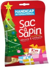 Sac à sapin handicap international