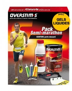 Pack semi-marathon Overstim's